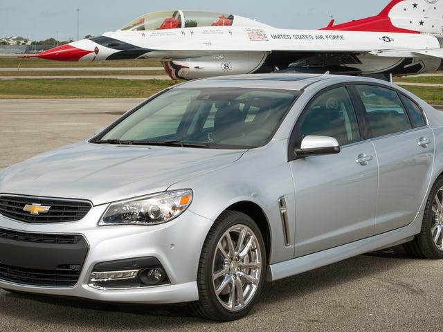 Here Are The Ten Best Cars You Can Buy For The Price Of A Chevrolet SS