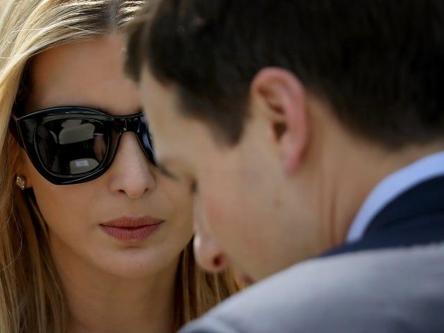 Jared og Ivanka har dette hele impeachment-ting under kontrol