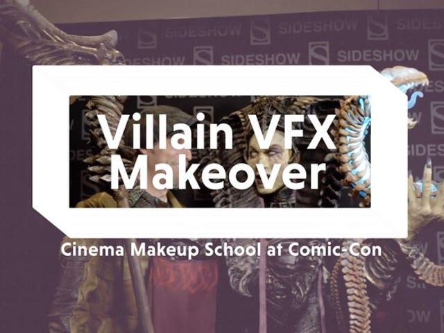 Watch a VFX Makeup Team Create a Terrifying Masterpiece
