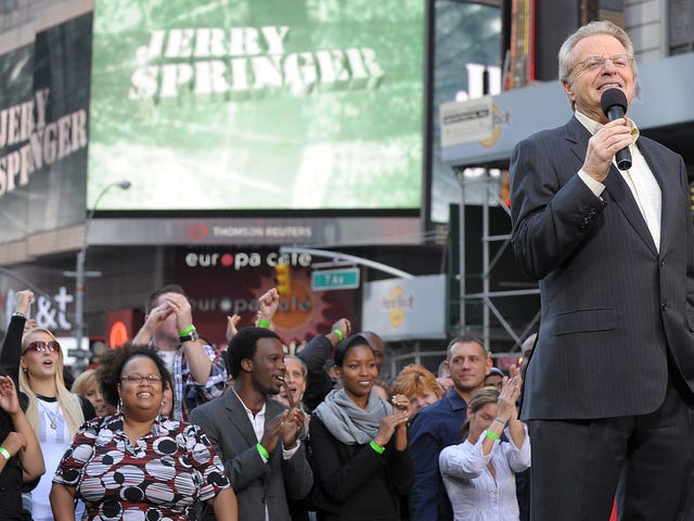 Yes, The Jerry Springer Show Is Still on TV, But Soon It Will End