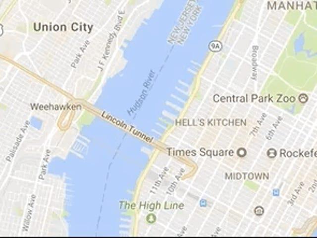 """Sweet Google Maps Trick vous permet de mesurer les distances """"Comme le corbeau vole"""""""