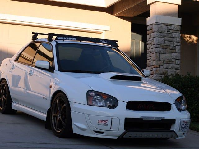 Proyecto de portaequipajes para el Subaru.