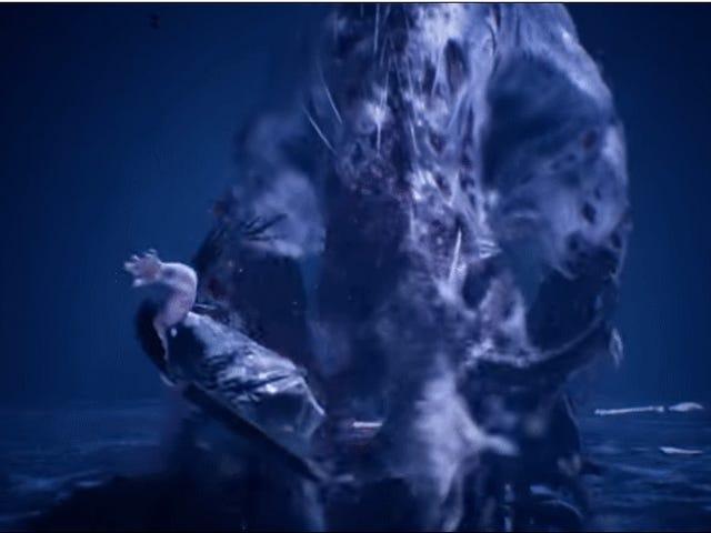 <i>Hellblade</i> 's Fenrir Encounter Büyük Patron Kavgalar Pantheon Ait
