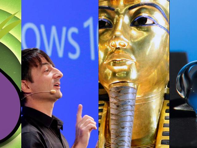 Hologramas, chapuzas web, faraones y Windows 10, lo mejor de la semana