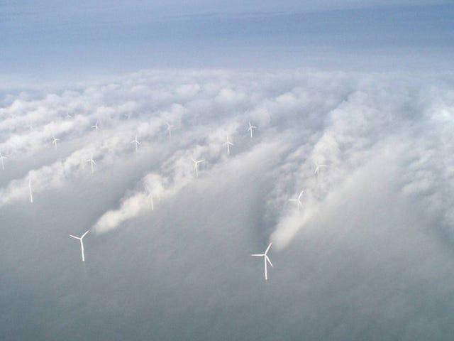 Massive offshore turbine arrays would help us harness hurricanes