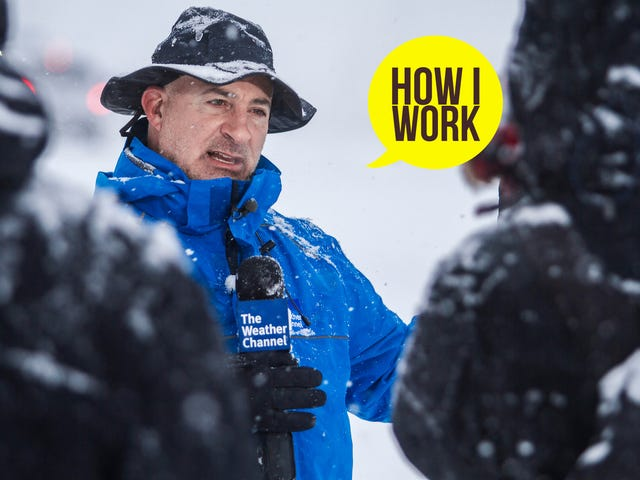 Jestem meteorolog Jim Cantore i This Is How I Work