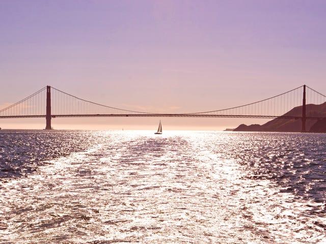 วิธีการดูพระอาทิตย์ตกสะพานโกลเดนเกตที่สมบูรณ์แบบ