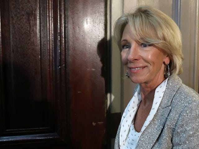 Betsy DeVos Thinks Teachers Should Carry Guns Even Though She Has No Idea What That Means