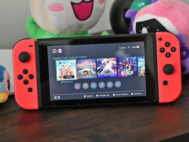 Nintendo Is Apparently Giving New Switch Owners a Free Upgrade to Version 2 [Update]