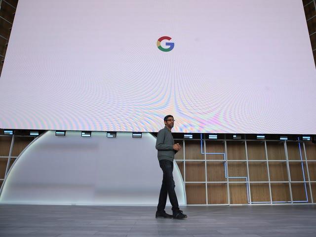 面对反托拉斯压力,谷歌开始自己动手,太大而无法论证