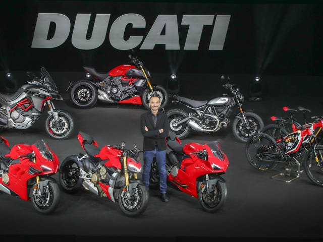 Ducati Dropped A Truckload Of New Motorcycles And E-Bikes