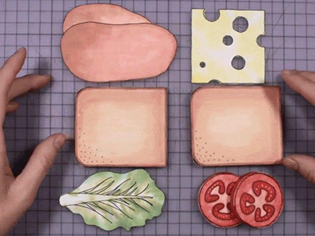 कैसे सैंडविच का आविष्कार किया गया था