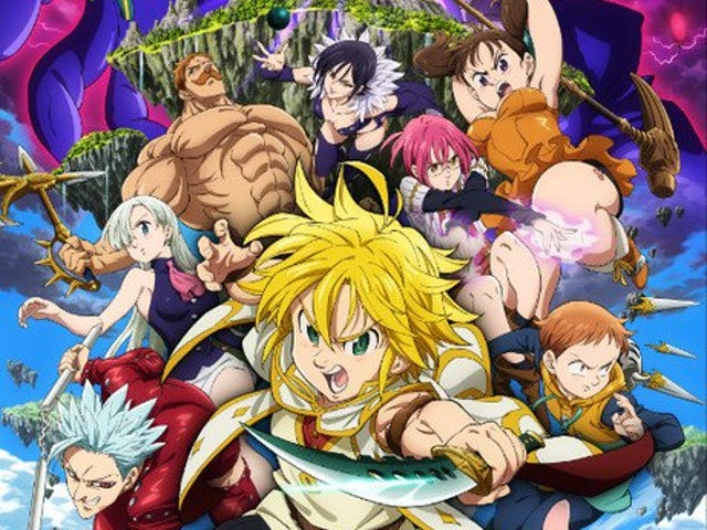 Here it is the new trailer for the movie of Seven Deadly Sins: Prisoners of the Sky