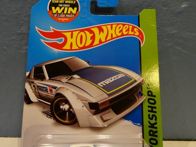 Mazda Δευτέρα Hot Wheels RX-7