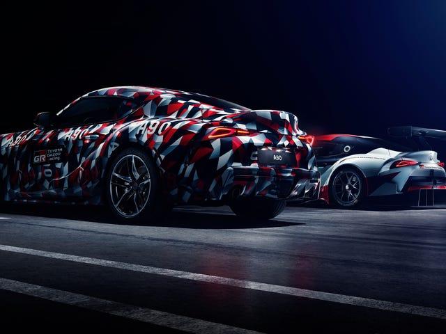 El 'debut' de Toyota Supra va a estar envuelto en camuflaje