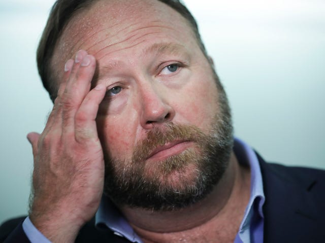 Alex Jones Files Lawsuit Trying to Force PayPal to Reinstate Infowars' Account