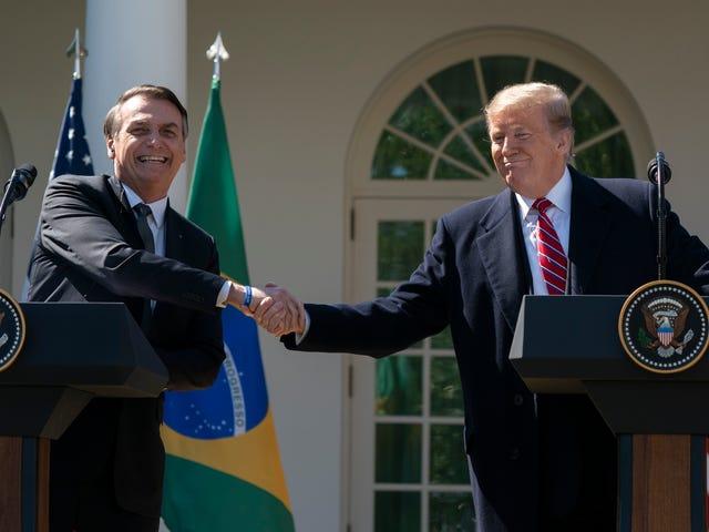 Till sist: Brasiliens Villainous New President möter mannen i spegeln