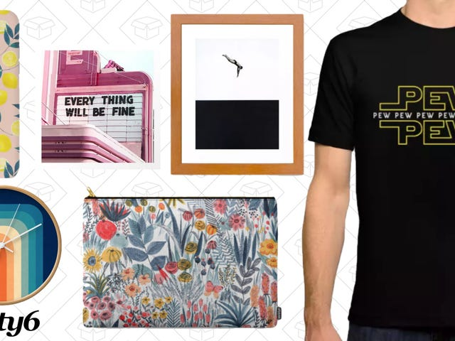 Upgrade Your Art With Society6's Sitewide Sale