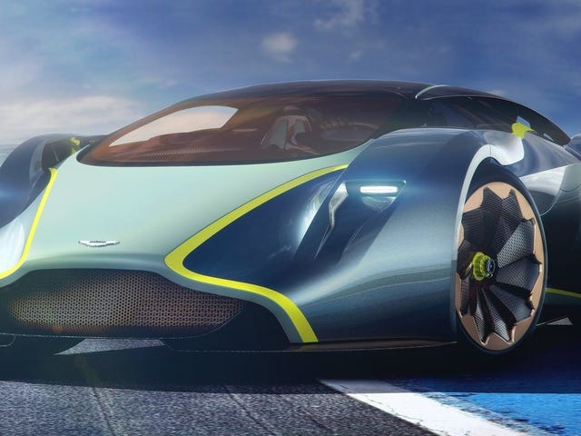 Aston Martin Is Planning Yet Another Mid-Engine Hypercar To Kick McLaren's Ass