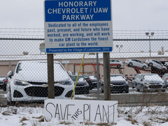 Deal for Workhorse pour acheter une usine GM en difficulté de Lordstown est 'approximativement préliminaire' malgré Trump Tweet