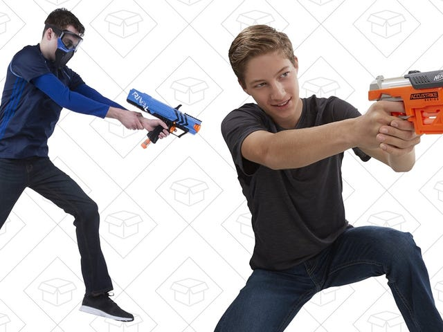 Go Hog Wild With Amazon's BOGO 40% Off Nerf Gun Sale