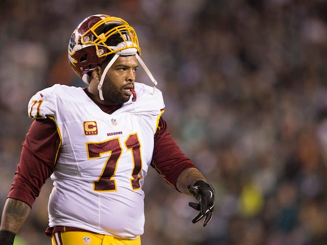 Report: Trent Williams's Beef With The Skins Runs Pretty Deep