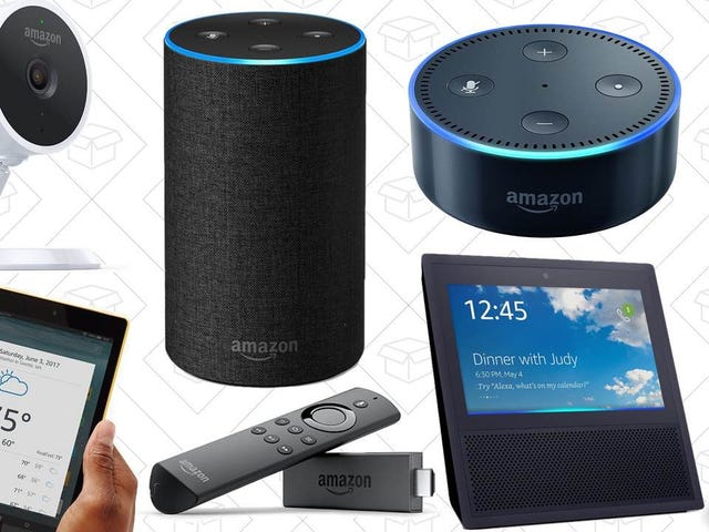 Discounted Echoes, Fire TV Stick, $30 Tablets, and the Rest of Amazon's Black Friday Deals