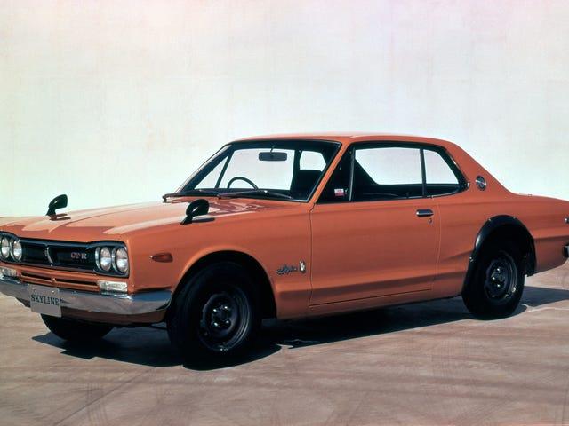 Tarvitsenko elämässäni oranssinvärisen Hakosuka Skyline GT-R: n?