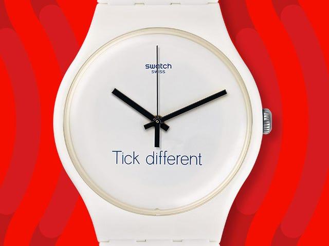 Swatch vinner rettigheter til varemerke som definitivt ikke ligner på en av Apples mest berømte slagord