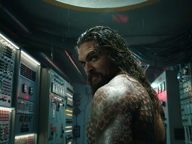 Like its hero, Aquaman is big, cheesy, and fun