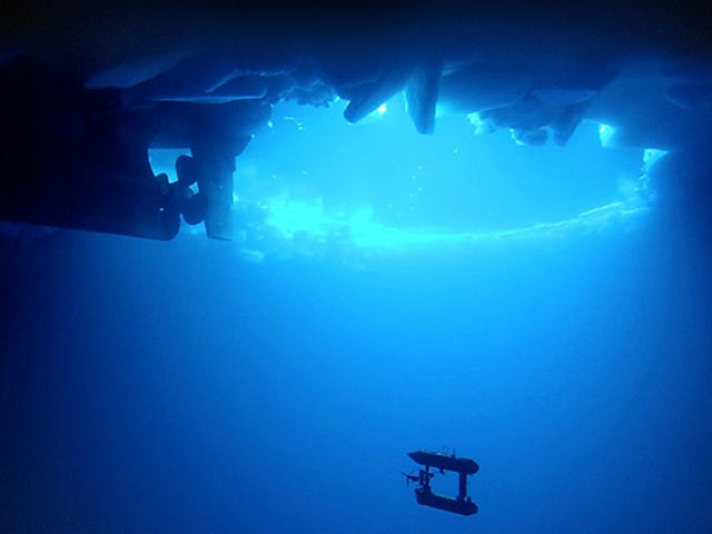 Robotic Submarine Finds Antarctic Ice Is Thicker than We Thought