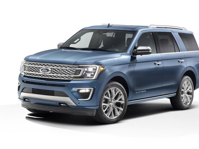 Así es como se ve la nueva Ford Expedition 2018