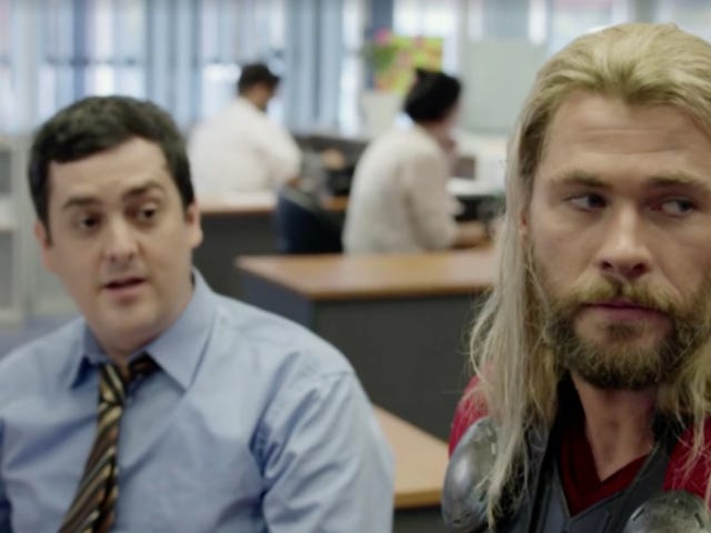 Thor's Pal Darryl Is Back for the Ragnarok Blu-ray With a New Roommate You'll Love