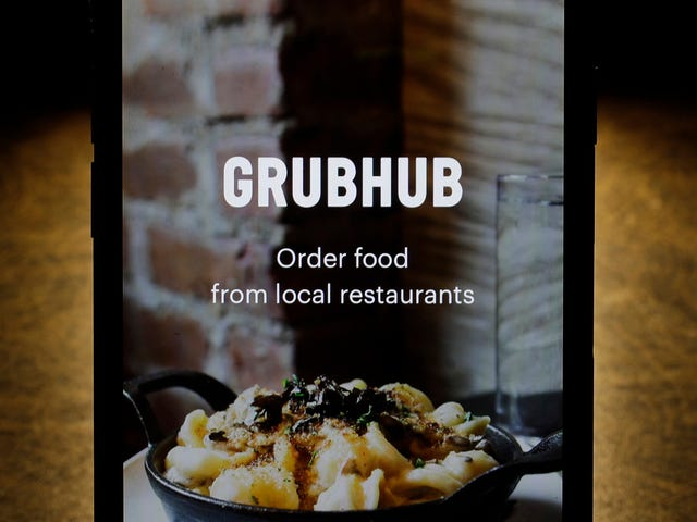 GrubHub Reportedly Considering Merging With Another Parasitic Food Delivery Service