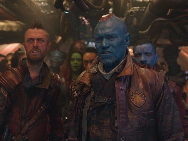 Nuevas imágenes del rodaje de Avengers: Endgame revelan que Kraglin estuvo a punto de aparecer en la película