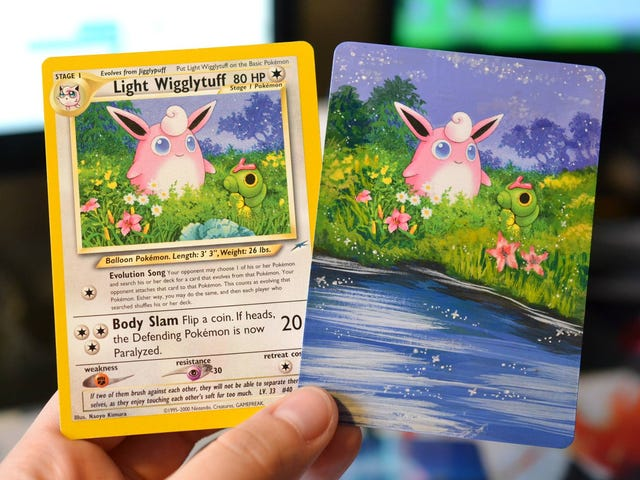 How To Make Pokémon Cards Even Better: Paint Them
