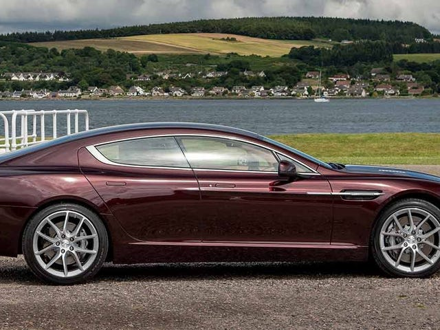 Farewell to the Aston Martin Rapide S