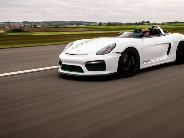 Porsche esqueceu-se de dar um telhado ao Boxster Bergspyder