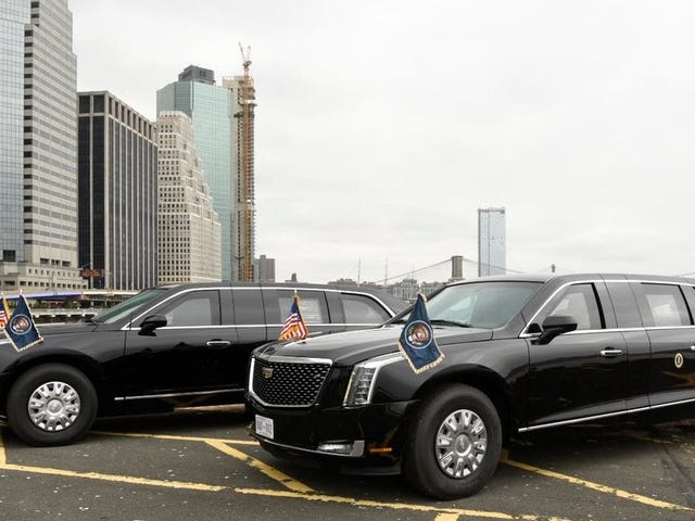 Here's The New Presidential Beast Limo