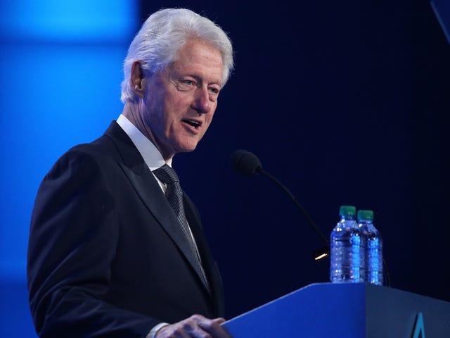 Ang mga Demokratiko Sa wakas Napagtatanto ang Bill Clinton Ay Masama