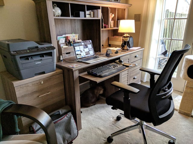 Home office ergonomic upgrade