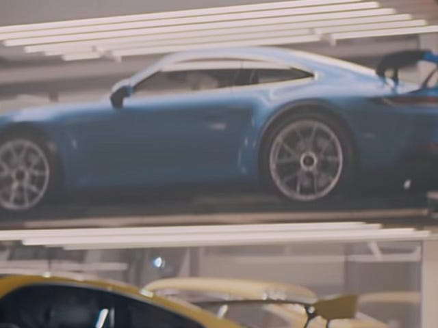 It Sure Looks Like Porsche Leaked The Next Generation 911 GT3 In A Commercial