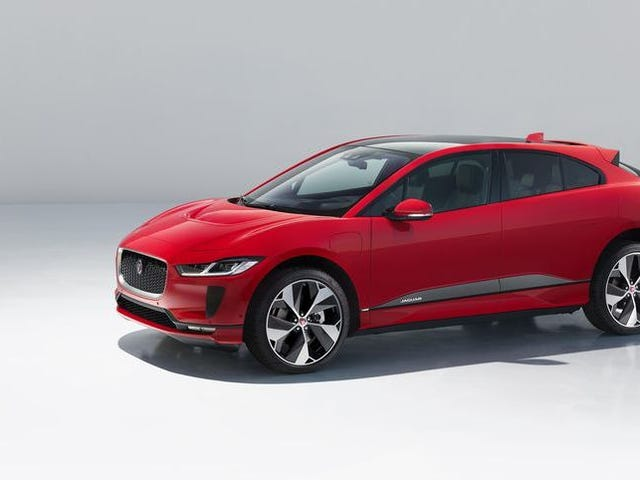 The 2019 Jaguar I-Pace Will Have An Electric Range Of 240 Miles To Match Its Good Looks