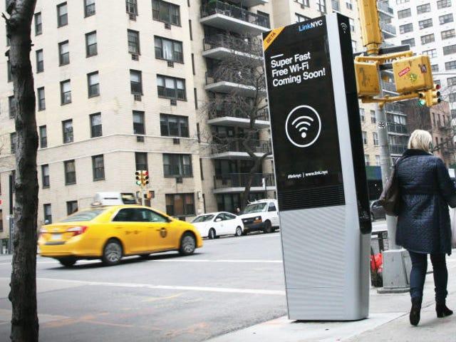NYCs gratis Wi-Fi-tjeneste dreier seg om et privatlivsmarmer