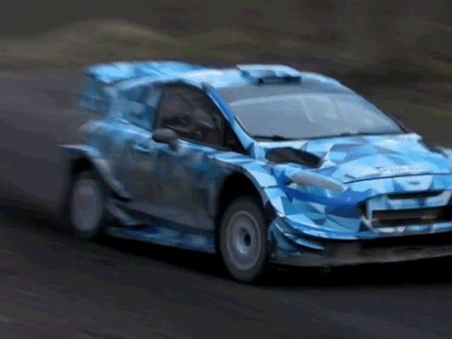 Nouvelles voitures WRC 2017: rapides