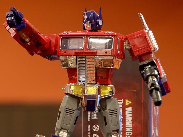 Hasbro mendapat The Touch, meletakkan filem prekuel Transformers animasi dalam karya