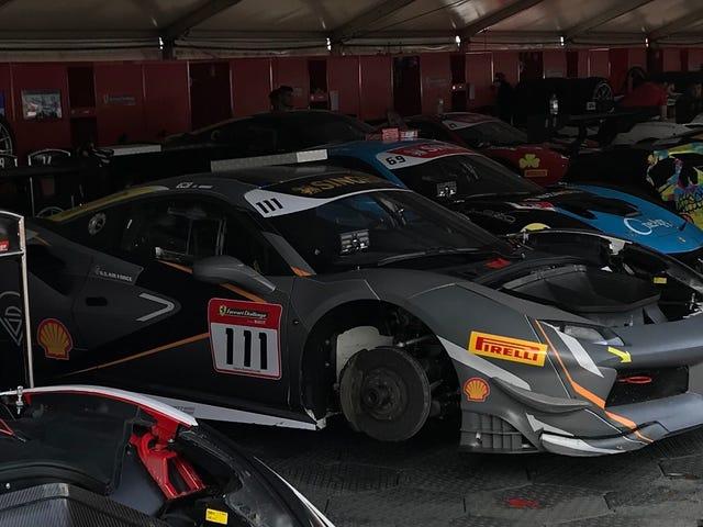 When ten million dollars worth of Ferraris are crammed in a corner like junk