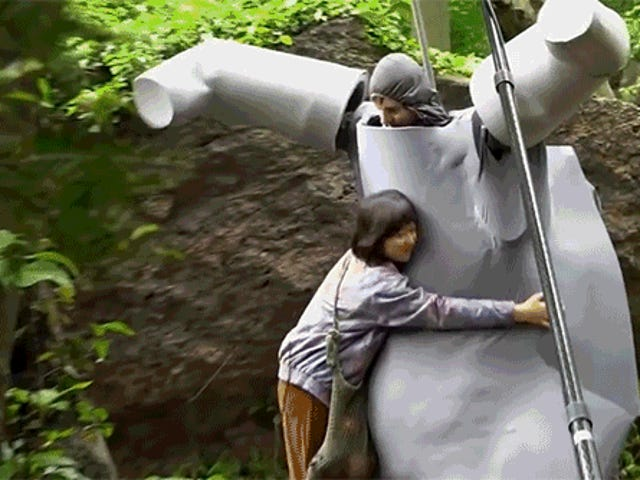 The Giant Foam Suit They Used to Film Okja Is Actually the Best Part of the Movie