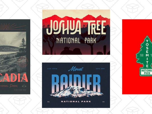 Explore New Parts of America With These $25 National Park Posters