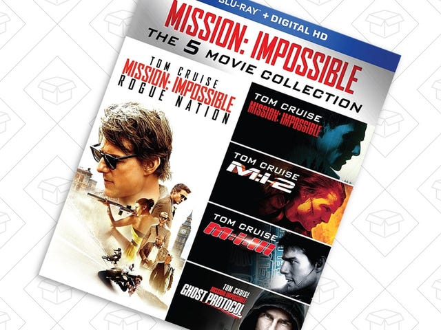 Catch Up On Mission: Impossible With This $20 Box Set